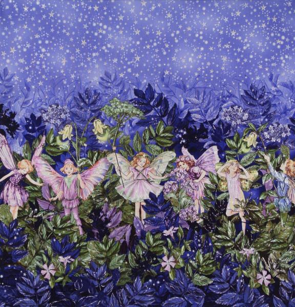 Flower Fairies Nacht Elfen Bordüre