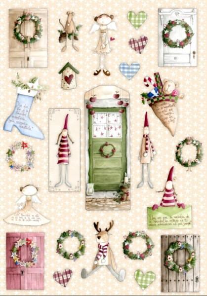 Dachboden der Elfen Weihnachten kleine Motive