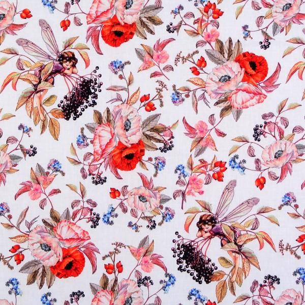 Elfen Flower Fairies Elderberry Fairies weiß