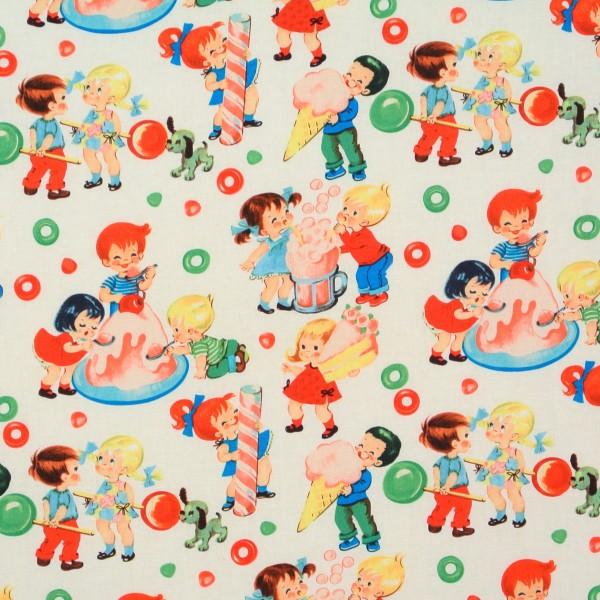 Retro Kinder Süsses Candy Shop