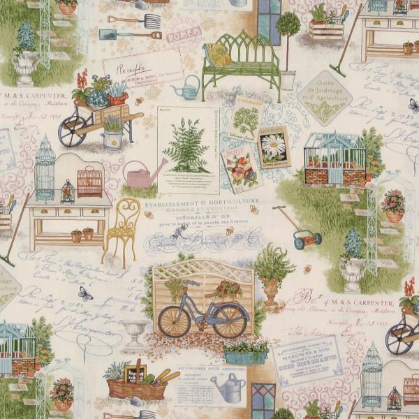 Antique Garden Gartenmotive •