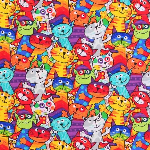 Fröhliche Katzen Party Cats