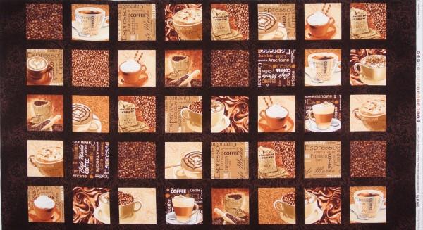 Cafe au Lait kleine Bilder Panel