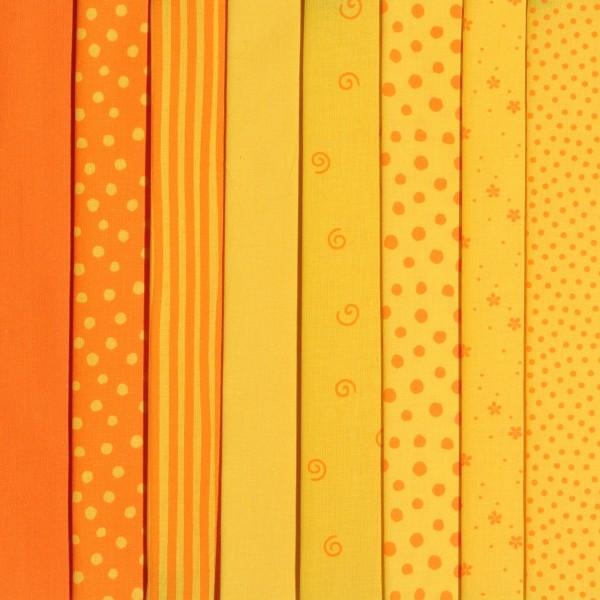 Westfalenstoff Stoffpaket Junge Linie Gelb