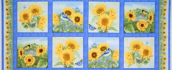 Sonnenblumen Sunflower Garden Garten Panel