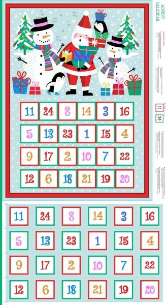 SALE Adventskalender DIY Jolly Santa Weihnachten