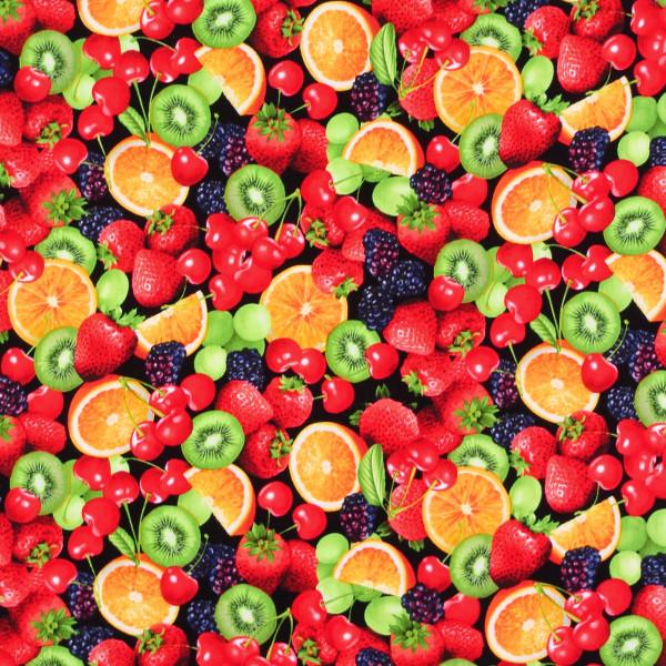 Obst Sommerfrüchte Obstsalat
