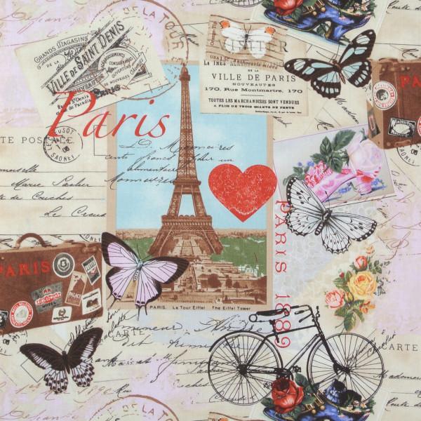 Paris Antique nostalgische Stadtbilder Fahrräder