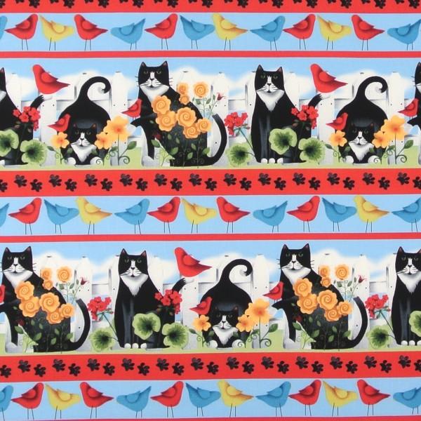 Katzen im Garten Garden Frolic•