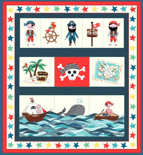 Kleine Piraten DIY Utensilo Panel