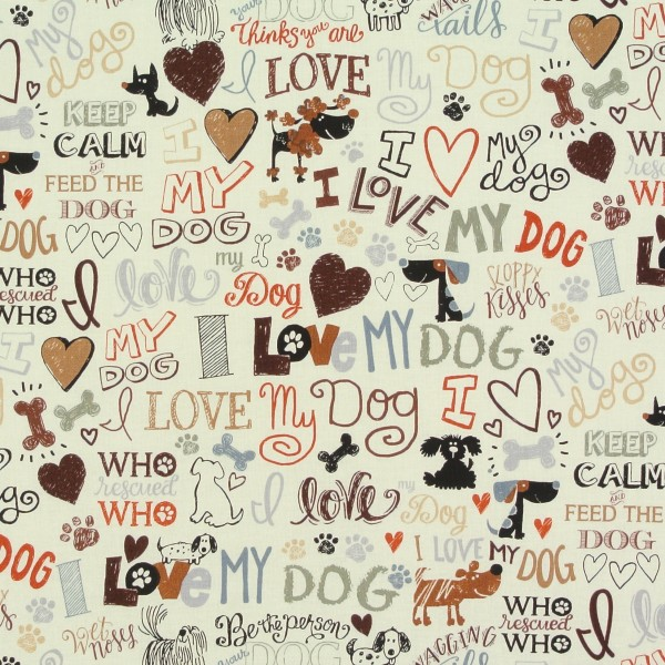 Hunde Hunde Hundeliebe Schrift