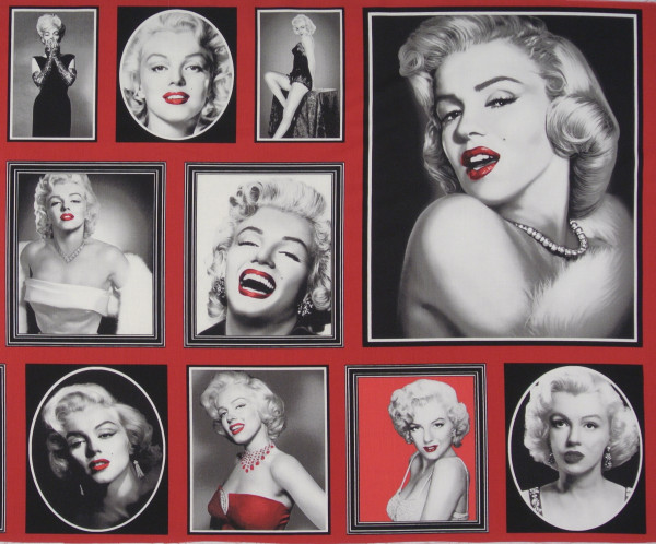 Rarität Hollywood Marilyn Panel 0,6 m