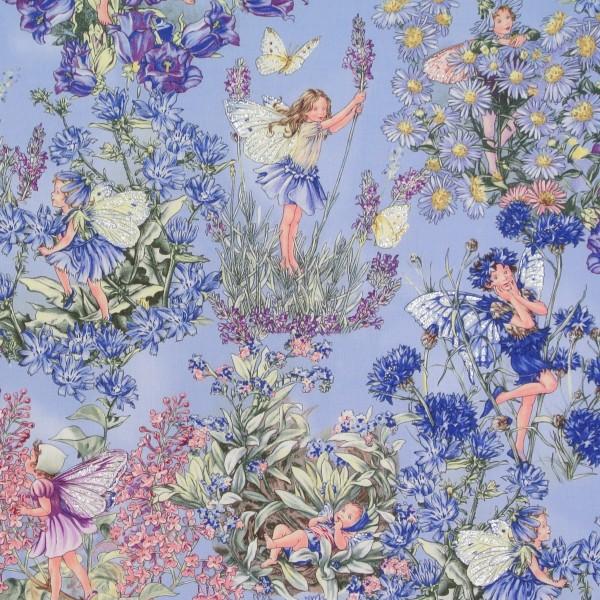 Flower Fairies Periwinkle Elfen blau