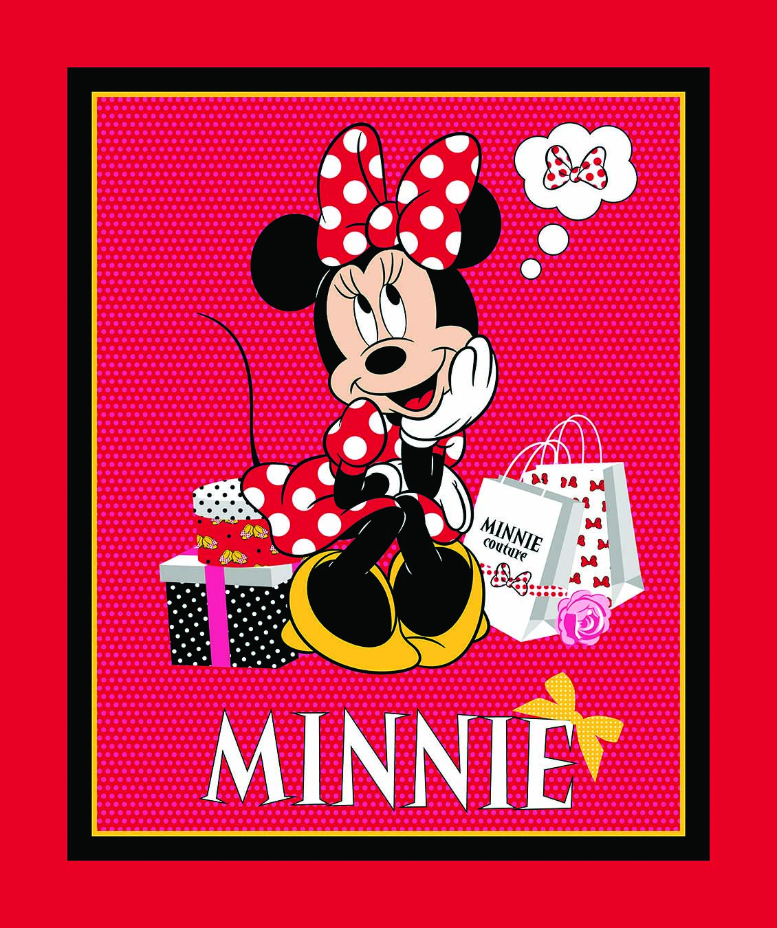 Disney Minnie Mouse beim Shoppen Panel | Kinder | Panels ...