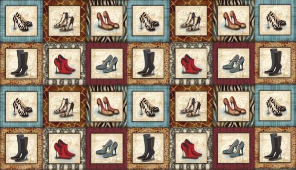 Sassy Shoes Schuhe High Heels Bilder Panel