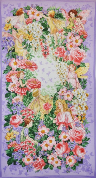 Flower Fairies Dreamland Panel
