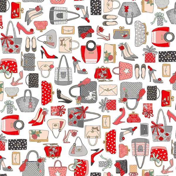 patchworkstoff frauen mode shopping pamper taschen schuhe weiß 30