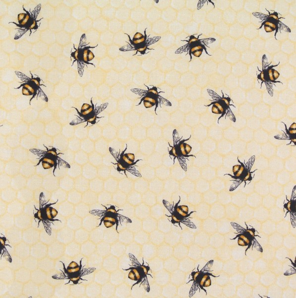 Patchworkstoff Bienen Everyday Favorites groß
