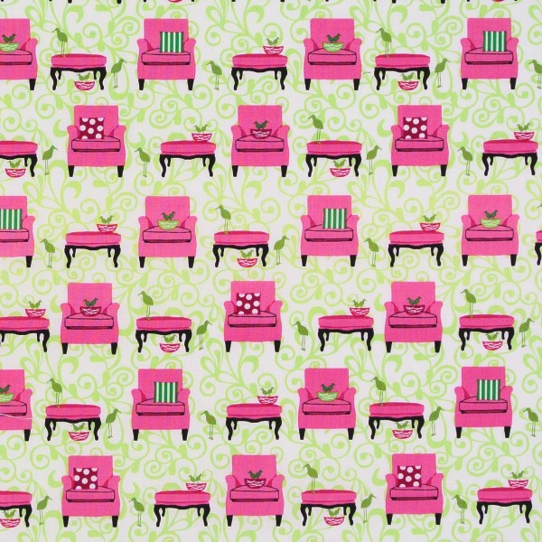 Perfectly Perched Sessel Sofas pink