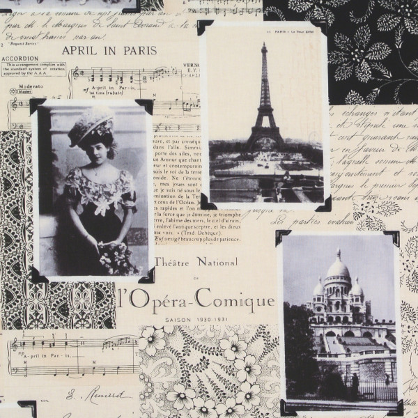 April in Paris nostalgische Stadtbilder