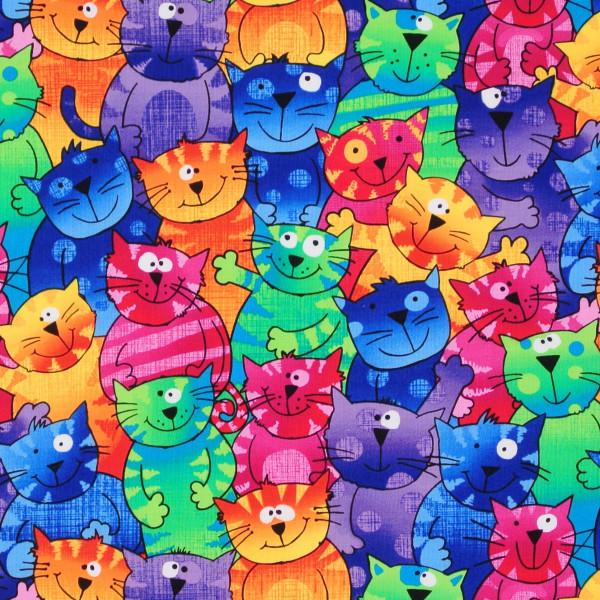 Fröhliche Katzen Happy Cats