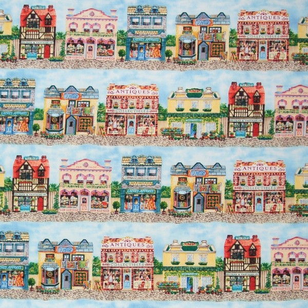 Old Town kleine Häuser Geschäfte •