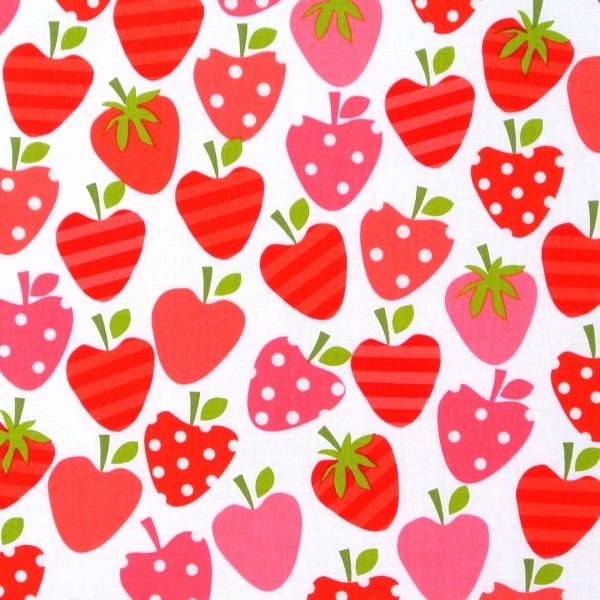Erdbeeren auf Weiss Ann Kelle Obst