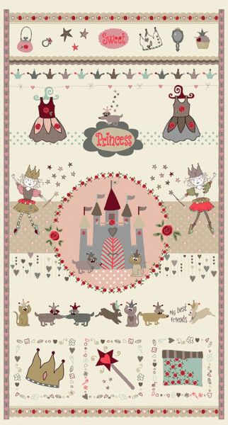 SALE Sweet Princess Panel
