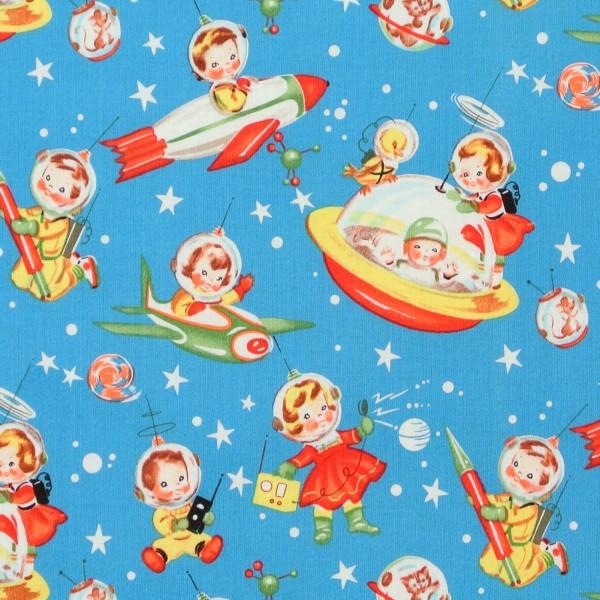 0,90 m Raumfahrt Retro kleine Astronauten*