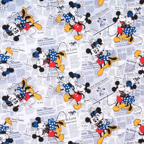 Disney Mickey und Minnie Mouse Zeitung