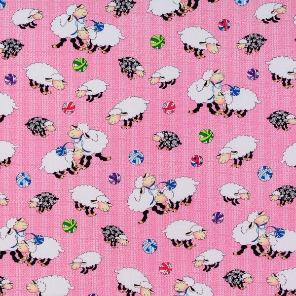 Schafe Stricken Knit Chicks rosa