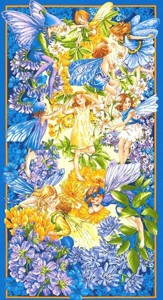 Flower Fairies Dusk Fairies Elfen Panel