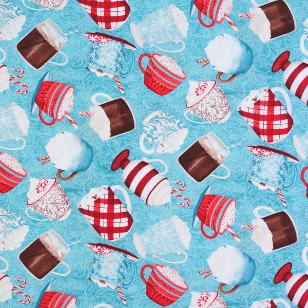 Cuppa Cocoa Kakao Schokolade Tassen türkis