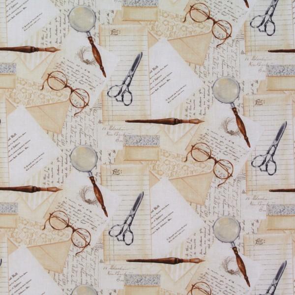 Book Shop Briefe Schrift Brille