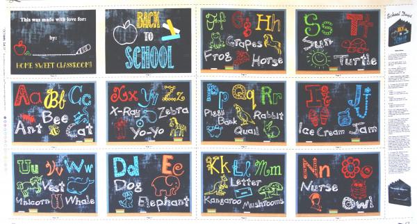 Schule School Days Panel