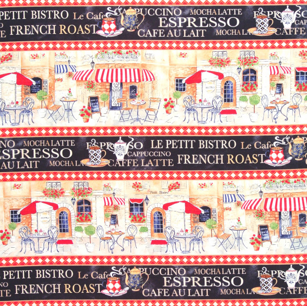 Le Petit Bistro Kaffeehausbordüre
