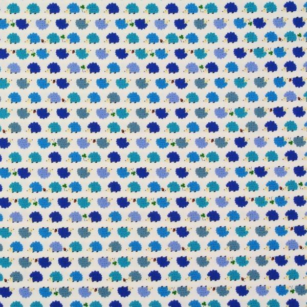 SALE 1,4 m Cosmo kleine Igel Blau-Grün