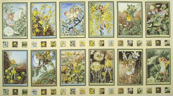 Flower Fairies Elfen Sunshine Fairies Panel
