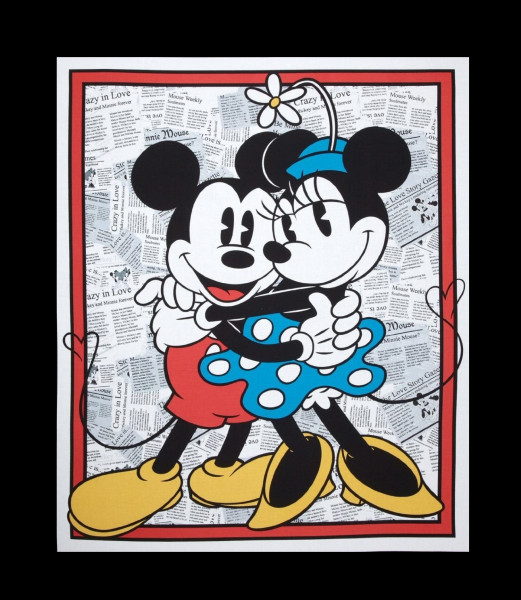 Disney Mickey und Minnie Mouse Panel