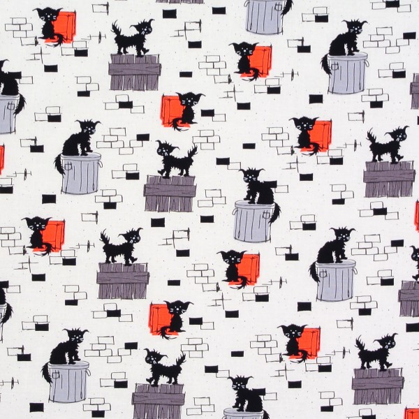 Rouge et Noir freche Katzen