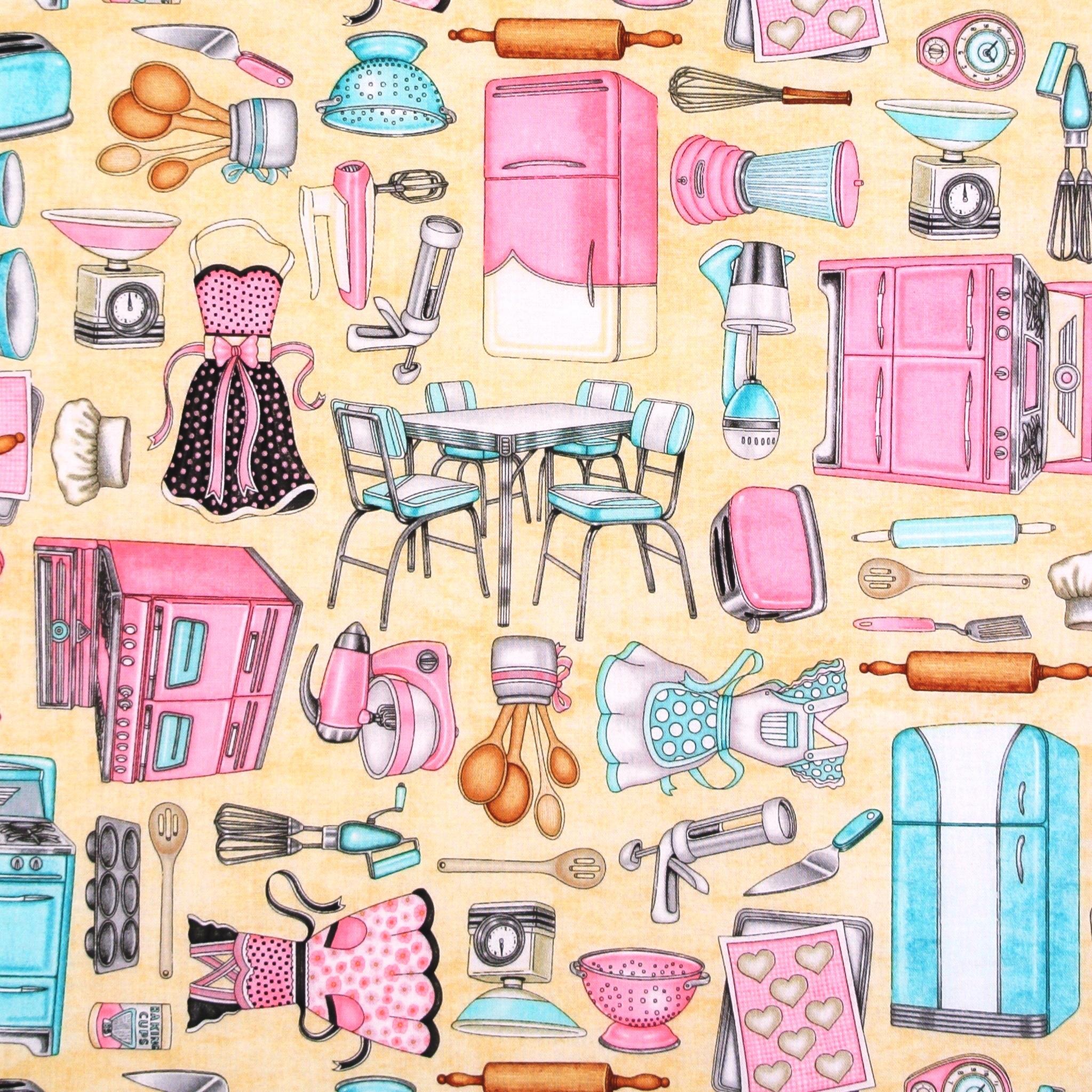 home sweet home utensilien ger te k che essen trinken patchworkstoffe stoffe meine. Black Bedroom Furniture Sets. Home Design Ideas