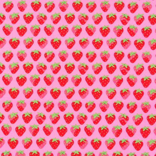 Lakehouse Erdbeeren auf Pink