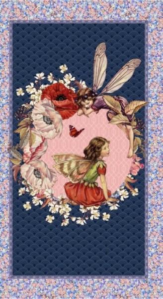 Elfen Flower Fairies Elderberry Fairies Panel