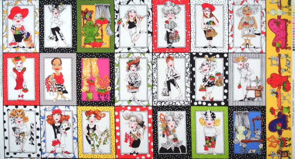 Loralie Sew Fabulous Patchworkstoff Nähen Frauen Panel