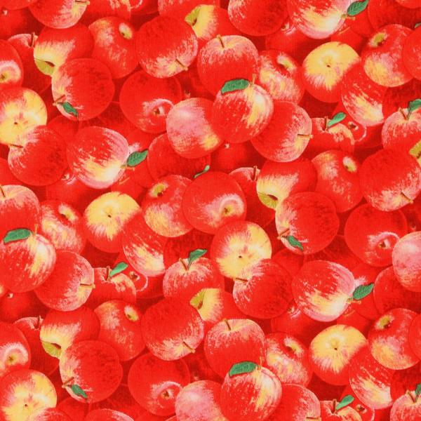 Harvest Quilts Äpfel rot