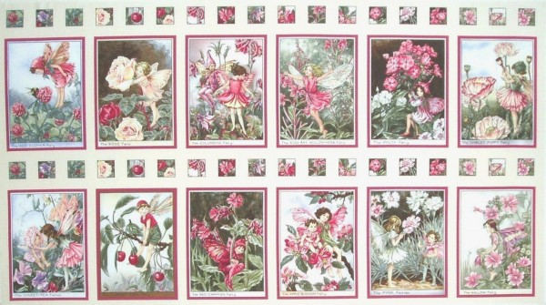 Flower Fairies Elfen Blossom Fairies Panel 60 cm