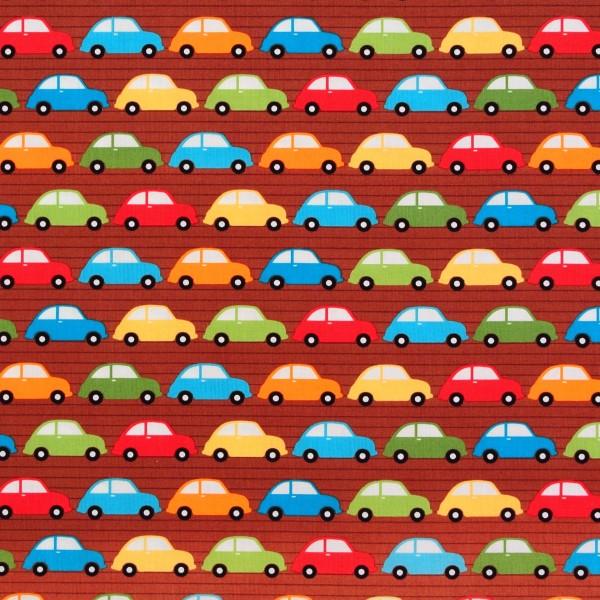 Patchworkstoff Autos Fahrzeuge Kinderstoff City Centre