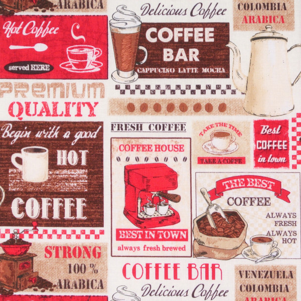 Timeless Treasures Coffee Labels •