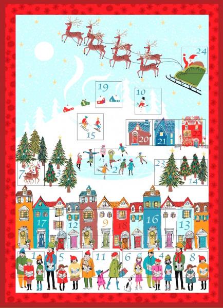 SALE Adventskalender DIY Wonderland Weihnachten