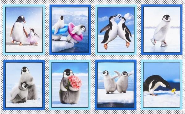 Pinguine Perky Penguins Panel •